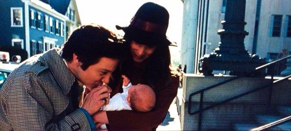 Jeremy Renner Baby in American Hustle