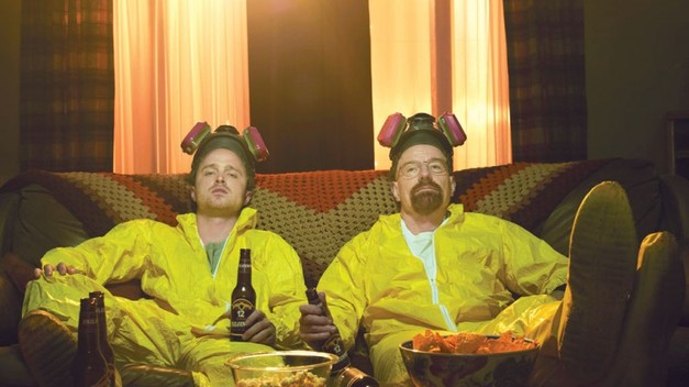 Jesse (links) und Walter (rechts) bei Breaking Bad