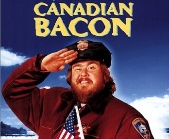 John Candy in Canadian Bacon