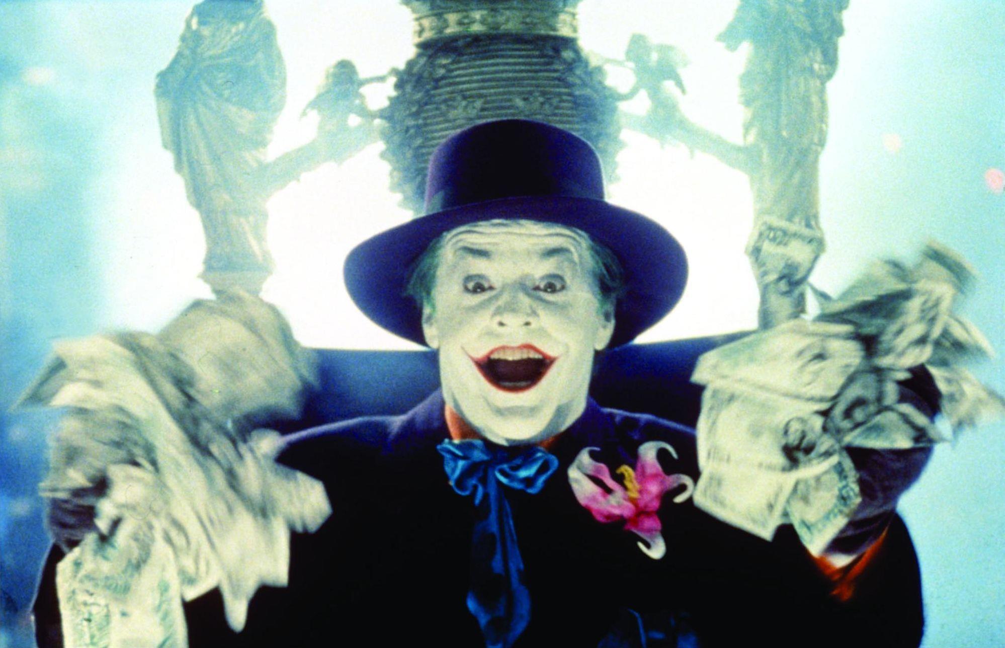 Joker Jack Nicholson in Batman