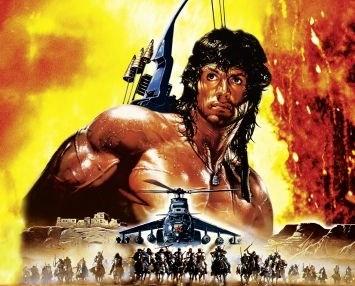 Silvester Stallone in Rambo